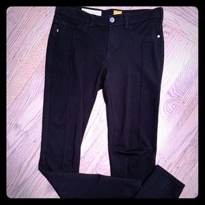 Anthropologie Black stretch Jeans by Pilcro